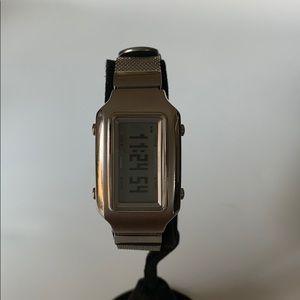 Casio Steel Mesh C-Sphere digital World-time Watch